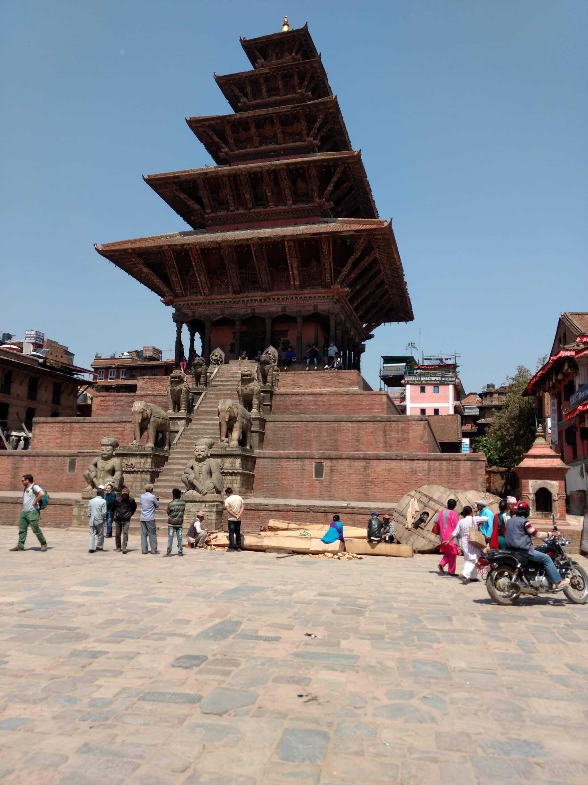 Nyatapola Temple of Bhaktapur