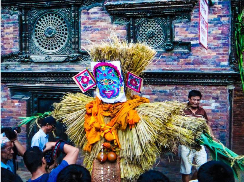 Gathaamo chare or Gathe Mangal in Nepali