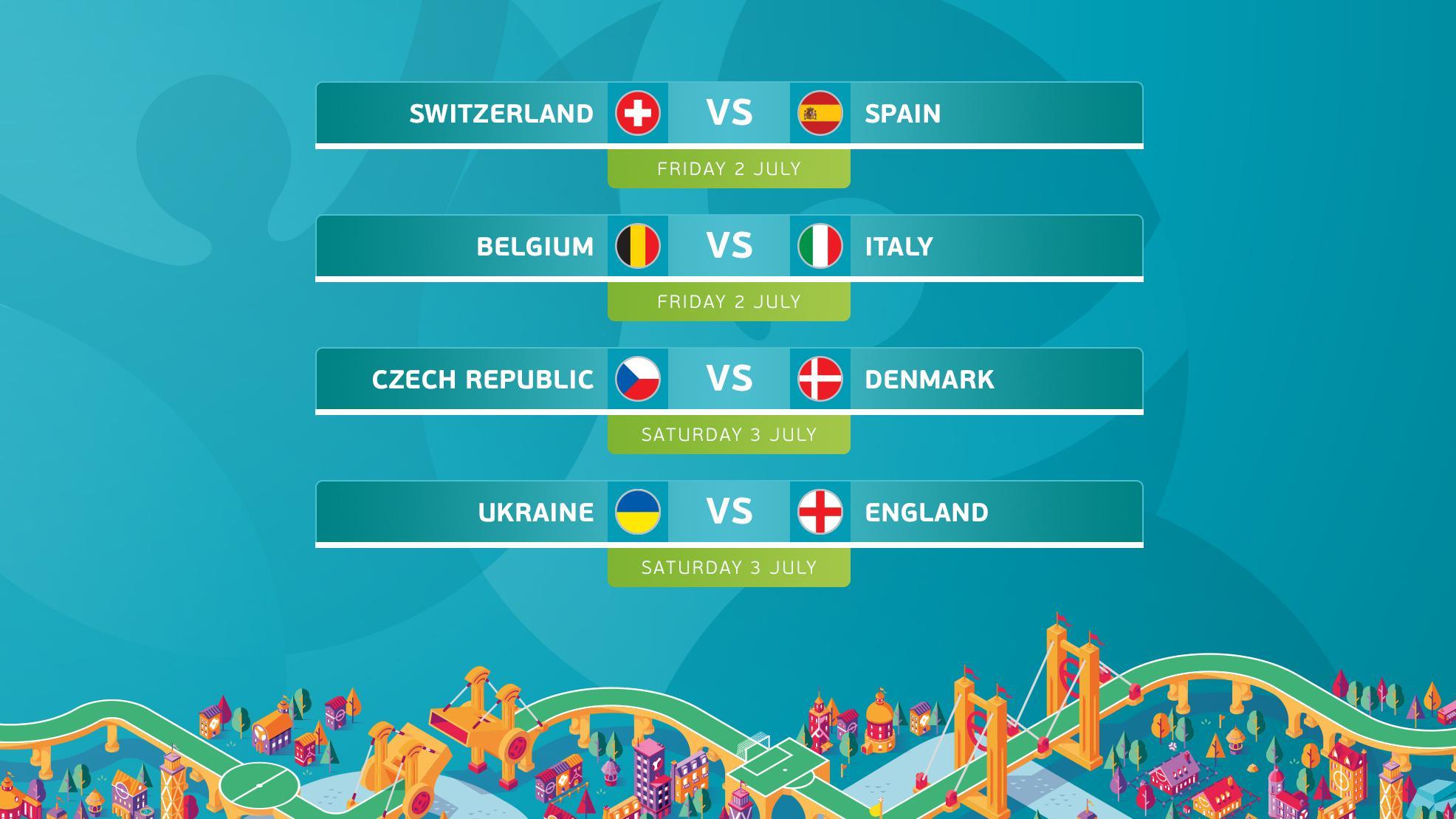 UEFA EURO 2020 Quarter Finals
