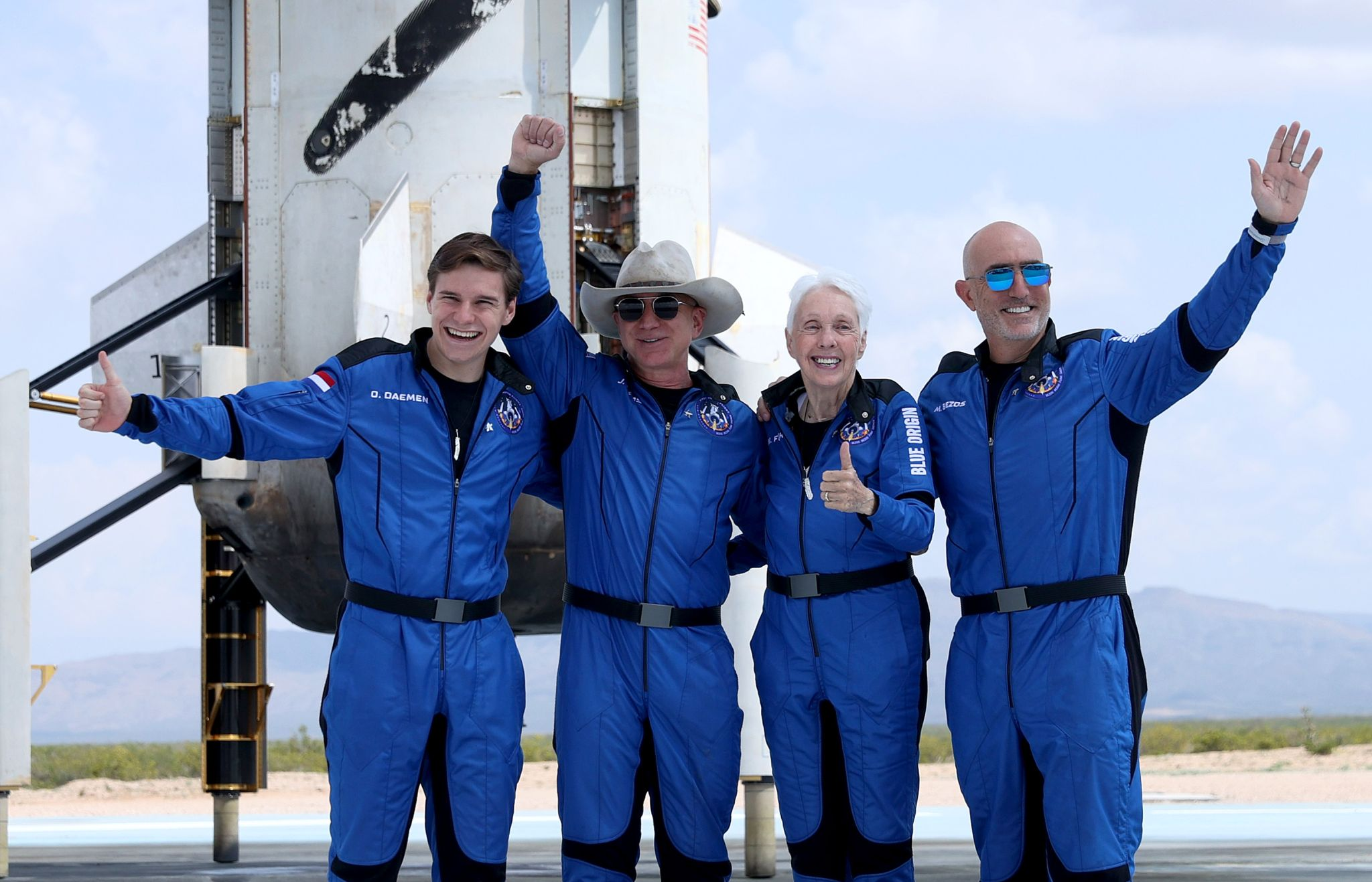 Jeff Bezos has successfully traveled to the edge of space