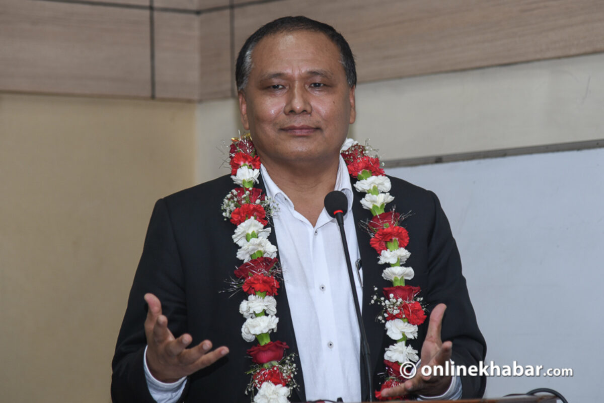 Kulman Ghisingh re-appointed